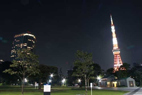 東京タワーの見えるホテル